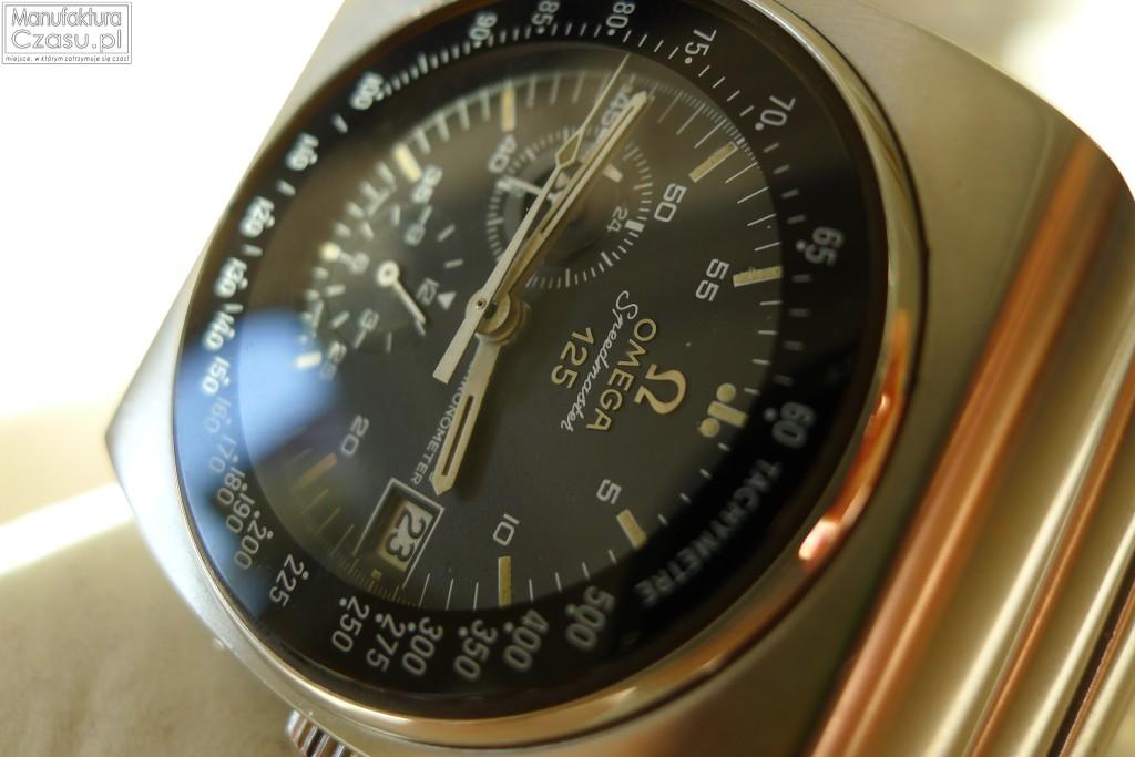 Omega Speedmaster 125 -tarcza