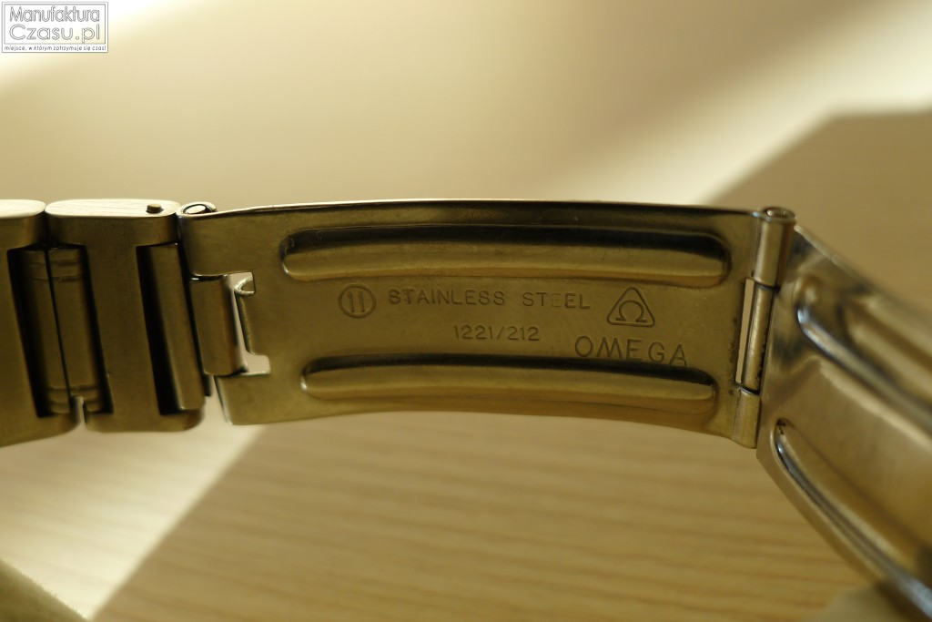 Omega Speedmaster 125 - bransoleta