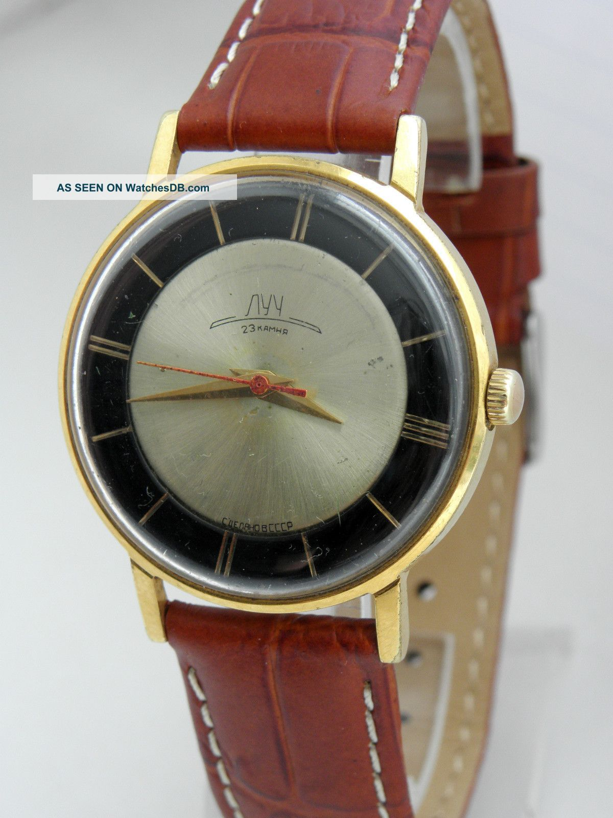 Przykład zegarka z tarczą dwutonową  - Manufaktura Czasu