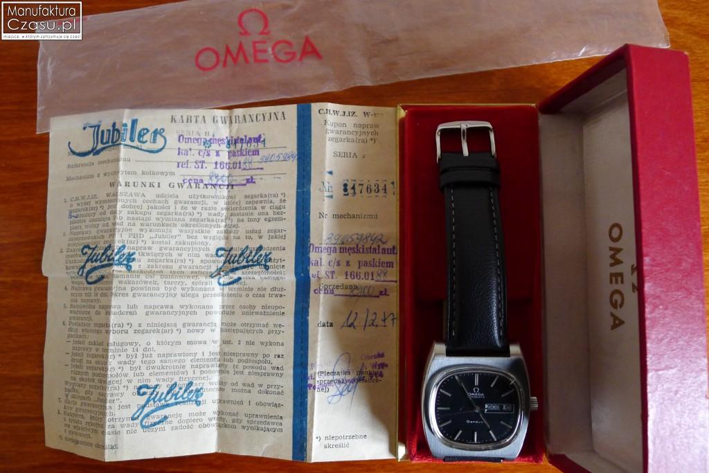Omega Geneve DayDate PL - Manufaktura Czasu