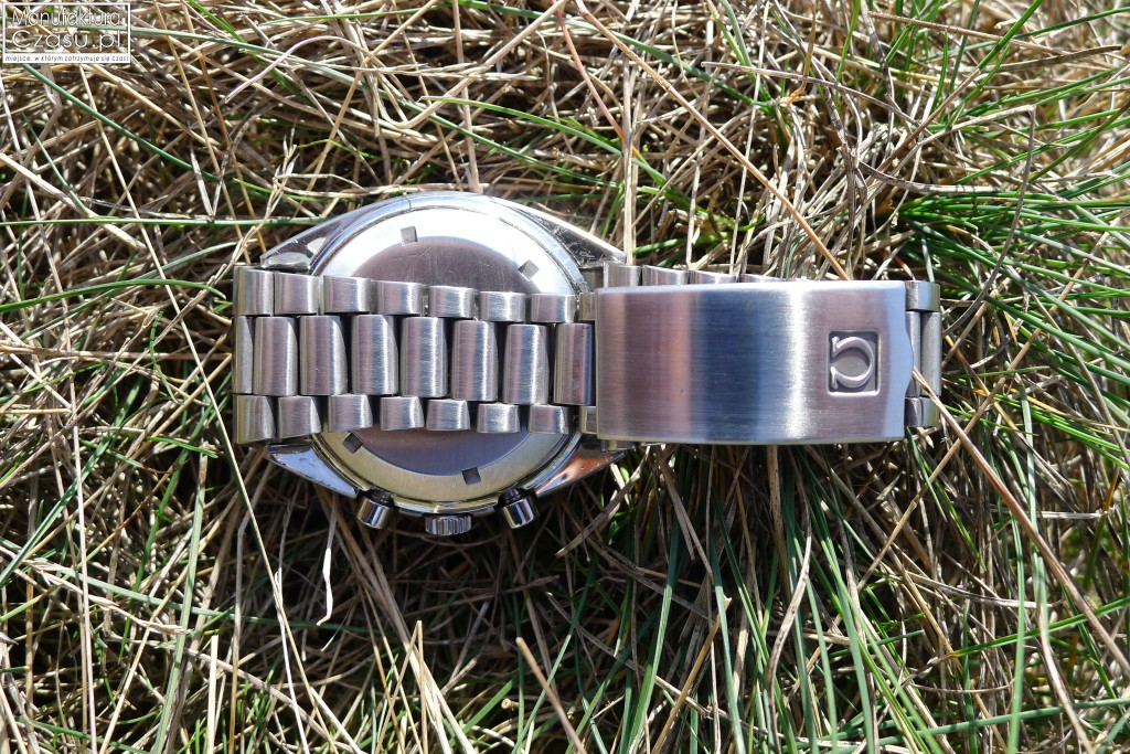 OMEGA Speedmaster Mark 4.5 - oryginalna bransoleta z logo