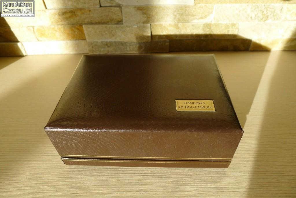 Longines Automatic Ultra-Chron - oryginalne pudełko z lat 60'