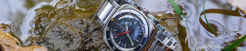 LANCO Automatic 21 Jewels – zegarek z lat 70' dla nurków