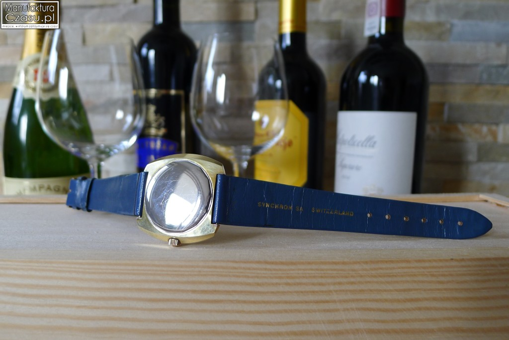 Ernest Borel Cocktail Watch - dekiel od zewnątrz