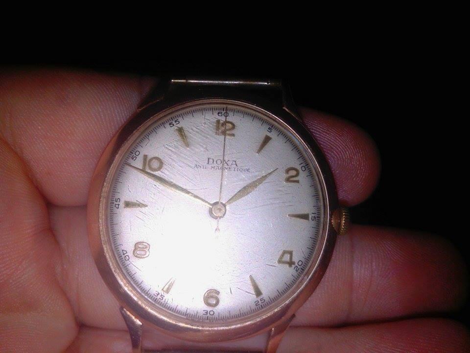 59bbcfdf39983d Witam, posiadam zegarek marki DOXA, złoty. Sama koperta, bez paska. Czy  mogłabym prosić o przybliżoną wycenę? Nie chciałabym aby ktoś przy  sprzedaży mnie ...