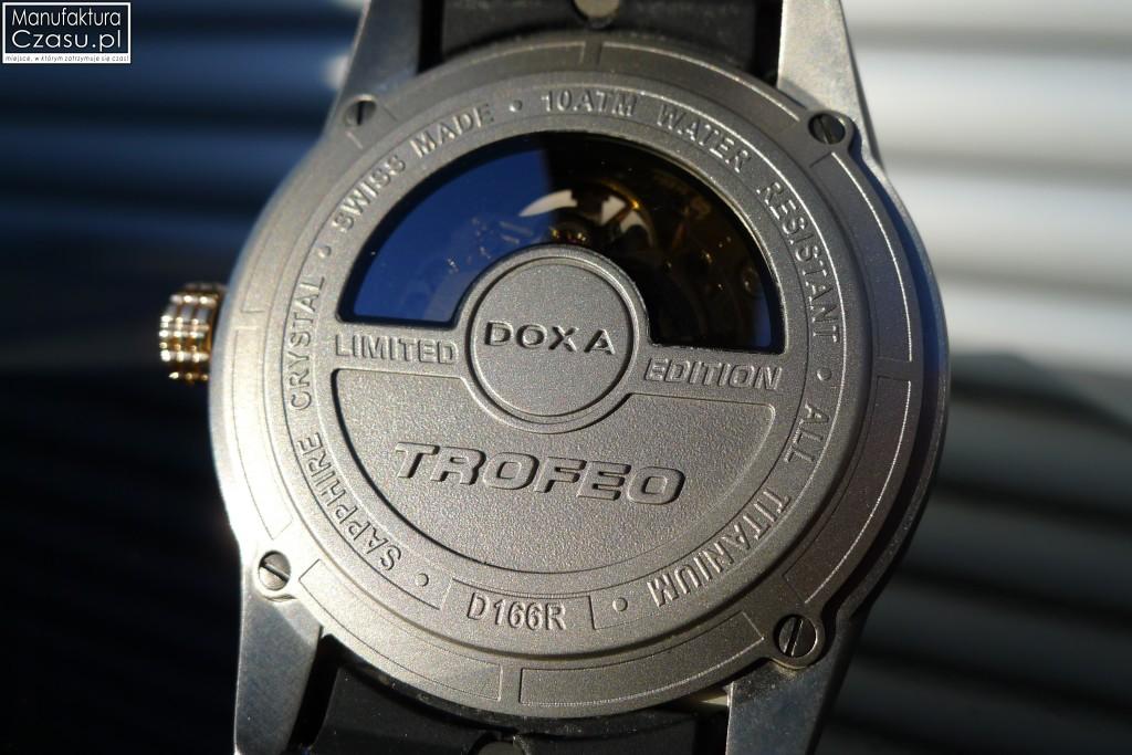 DOXA Trofeo TC Evolution - przeźroczysty dekiel