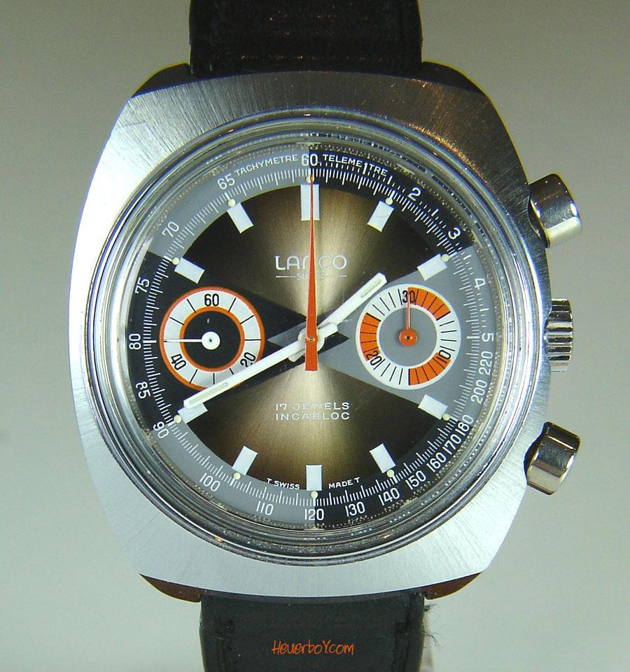 LANCO z komplikacją chronografu