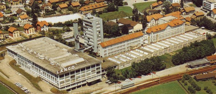 "Fabryka LANCO pod koniec lat 60"" XX wieku"