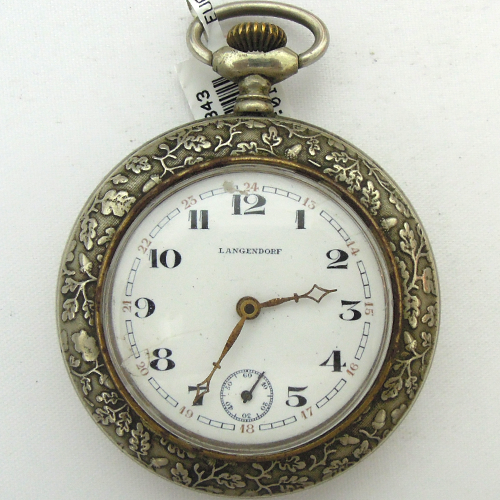 Langendorf - zegarek kieszonkowy