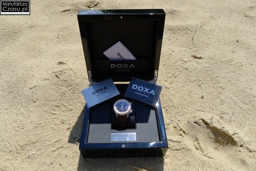 DOXA Blue Planet GMT Limited Edition - jeszcze w folii ochronnej