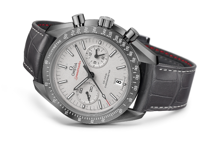 Omega Speedmaster Grey Side 1