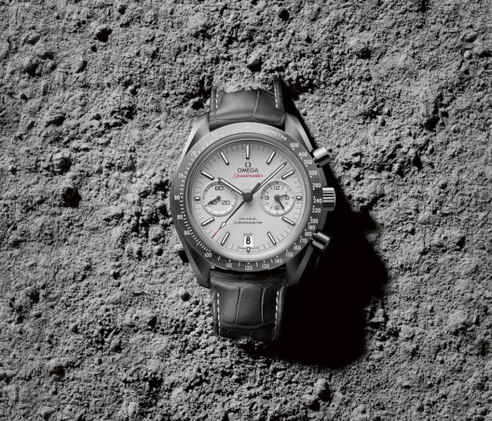 Omega Speedmaster Grey Side 2
