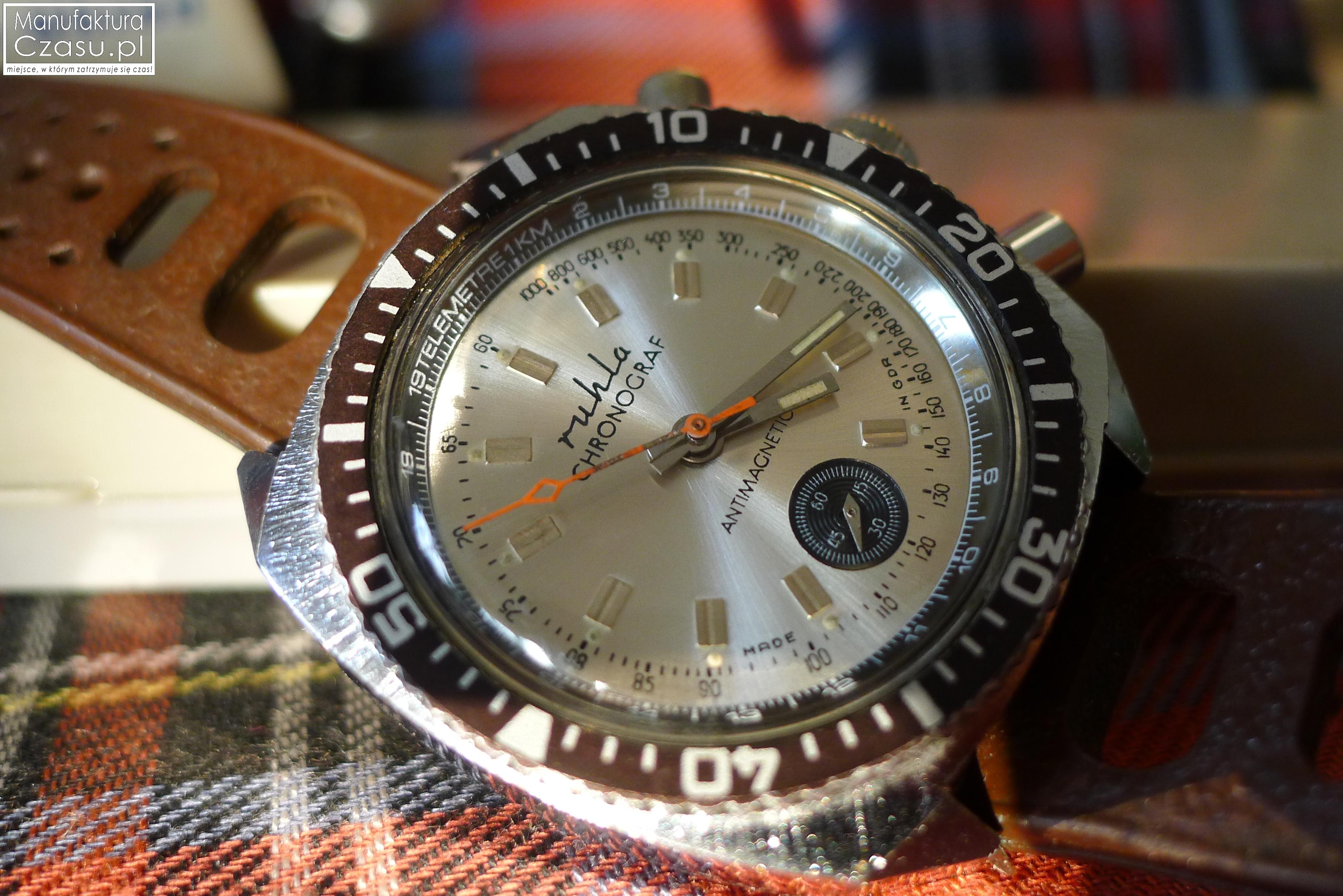 e00454ef05e RUHLA Chronograf – zegarek z nieistniejącego już kraju ...