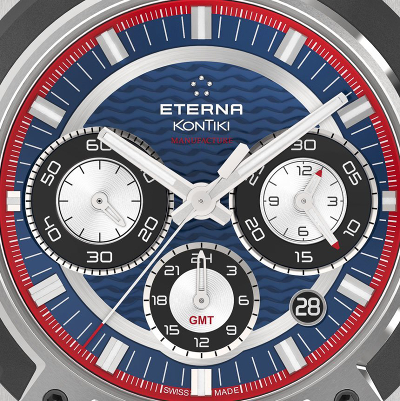 Eterna Royal KonTiki Chrono GMT 3