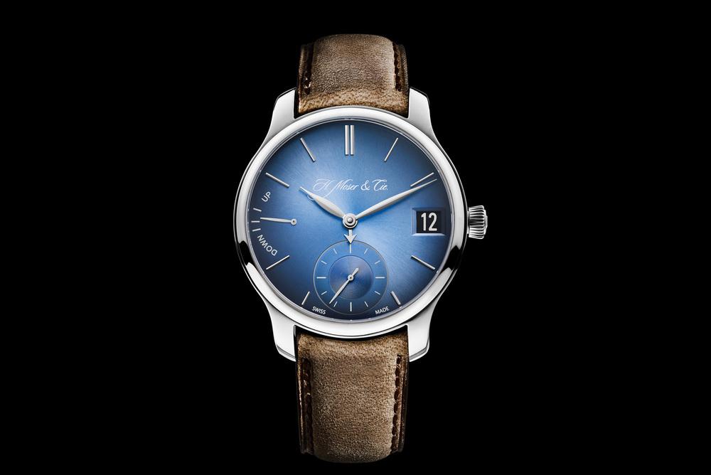 H.Moser & Cie - Funky Blue 1