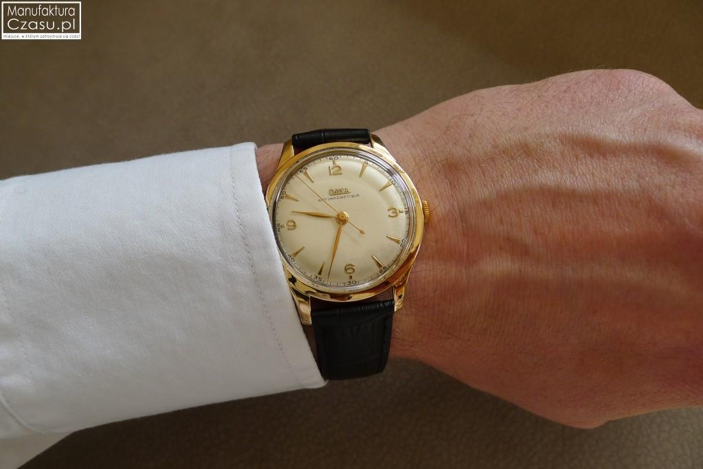 Renowacja zegarka - DOXA po 11