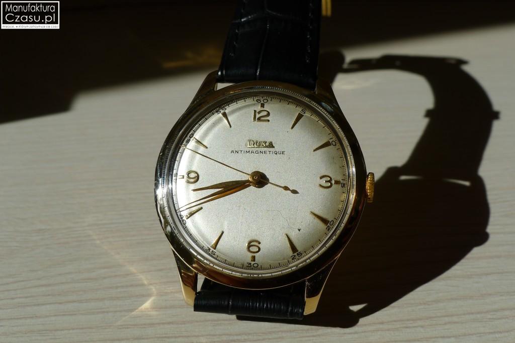 Renowacja zegarka - DOXA po 5