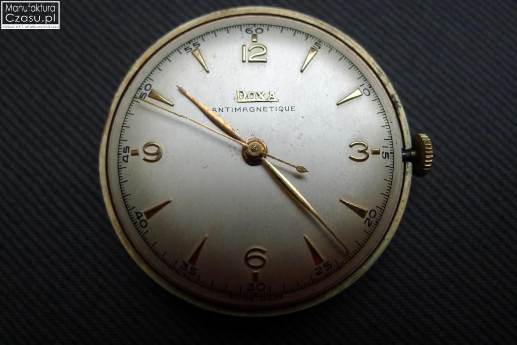 Renowacja zegarka - DOXA przed 19