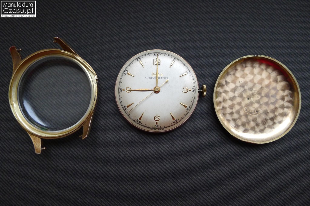 Renowacja zegarka - DOXA przed 8