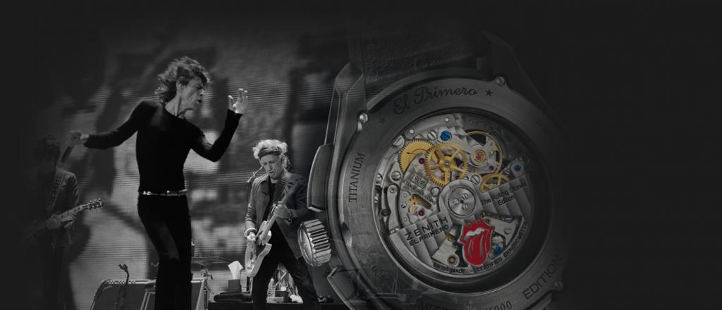 Zenith El Primero Tribute to Rolling Stones 1
