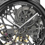 "AEROWATCH model ""Renaissance All Black"""