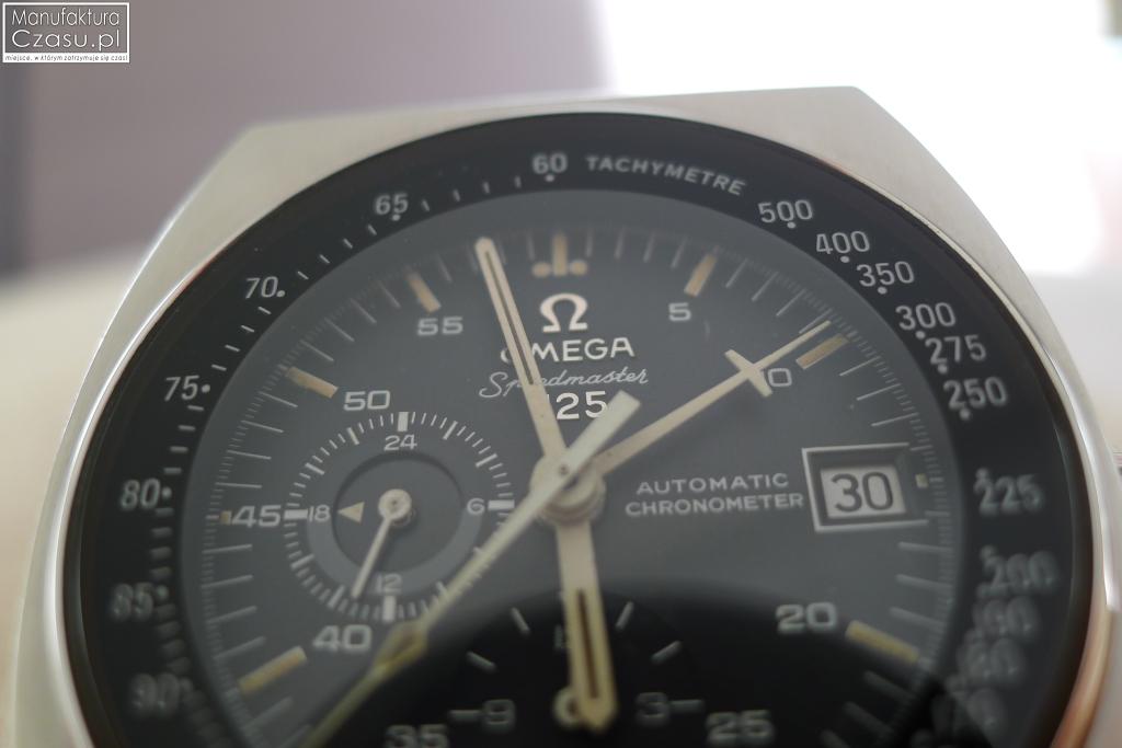 Omega Speedmaster 125 - tarcza