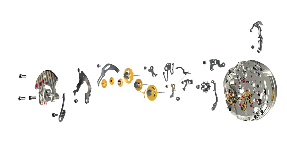 Zdjęcie poglądowe : Breitling mechanizm in-house