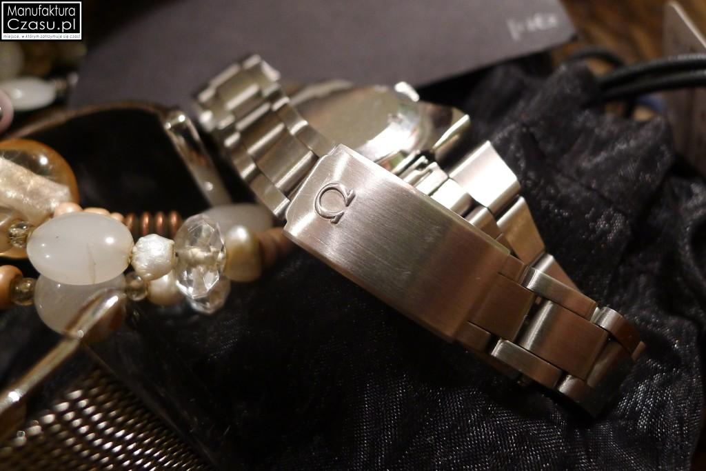 Damska Omega Geneve - bransoleta z logo