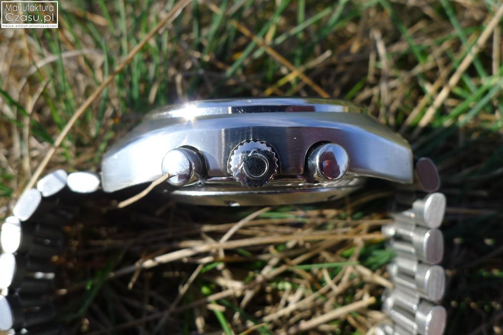 OMEGA Speedmaster Mark 4.5 - koronka i przyciski chronografu