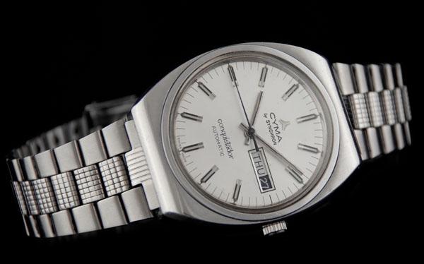 Cyma Conquistador - piękny  i niedrogi zegarek vintage
