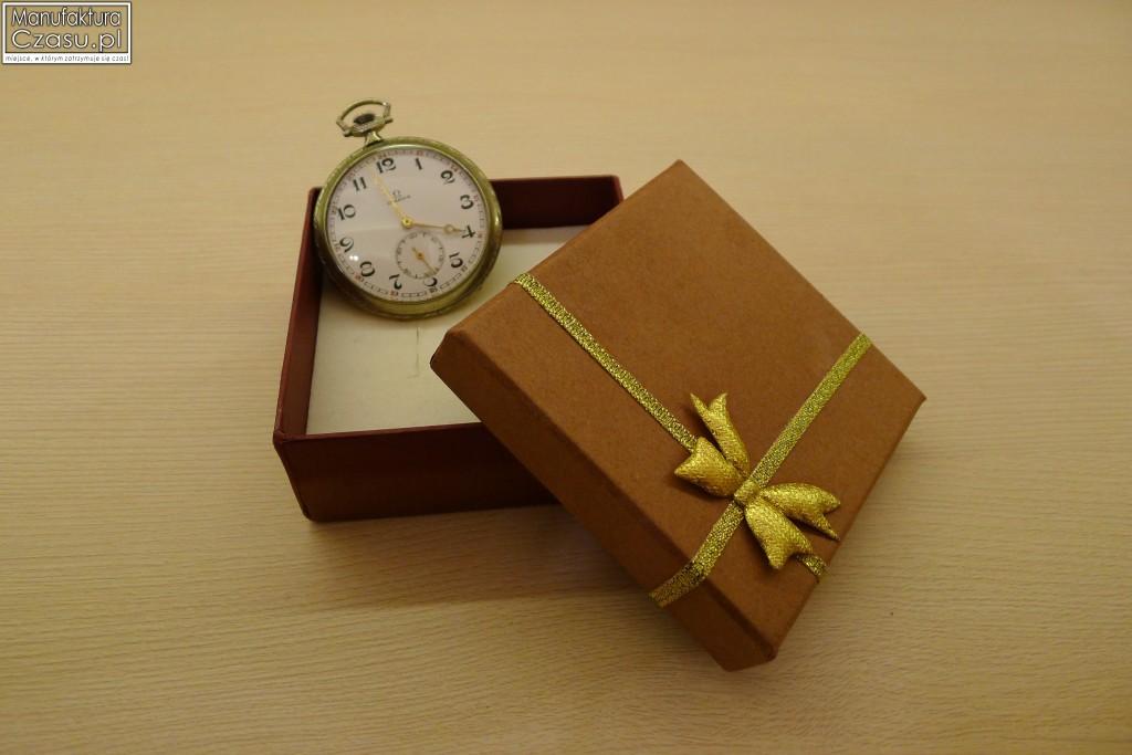 Zegarek kieszonkowy manufaktury Omega