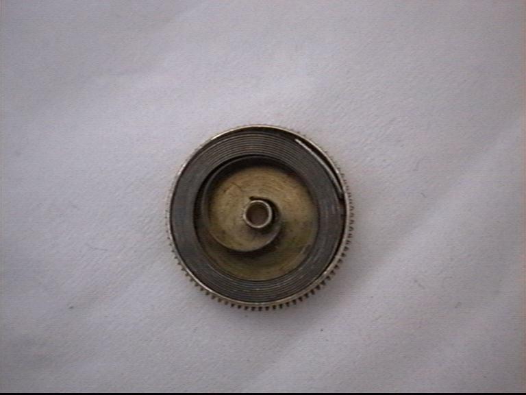 Bęben sprężyny ze sprężyną w środku