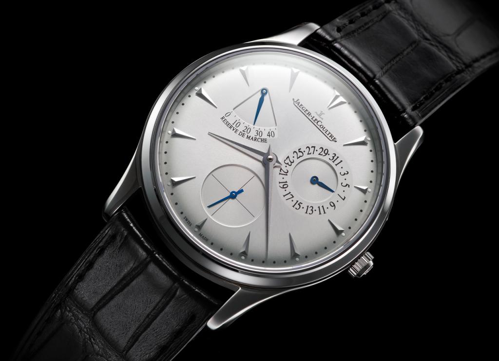 Tarcza zegarka ze wskaźnikiem rezerwy chodu - zdjęcie poglądowe