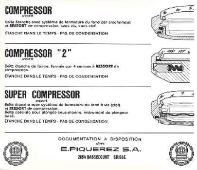 Trzy typy kopert produkcji EPSA - zdjęcie poglądowe