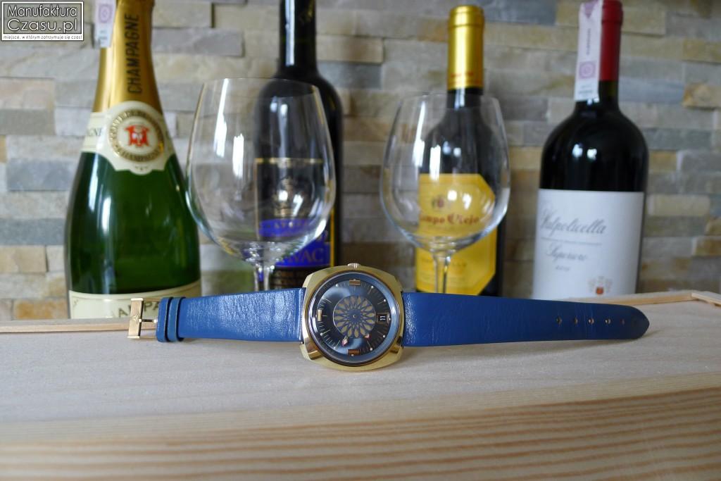 Ernest Borel Cocktail Watch na oryginalnym pasku !