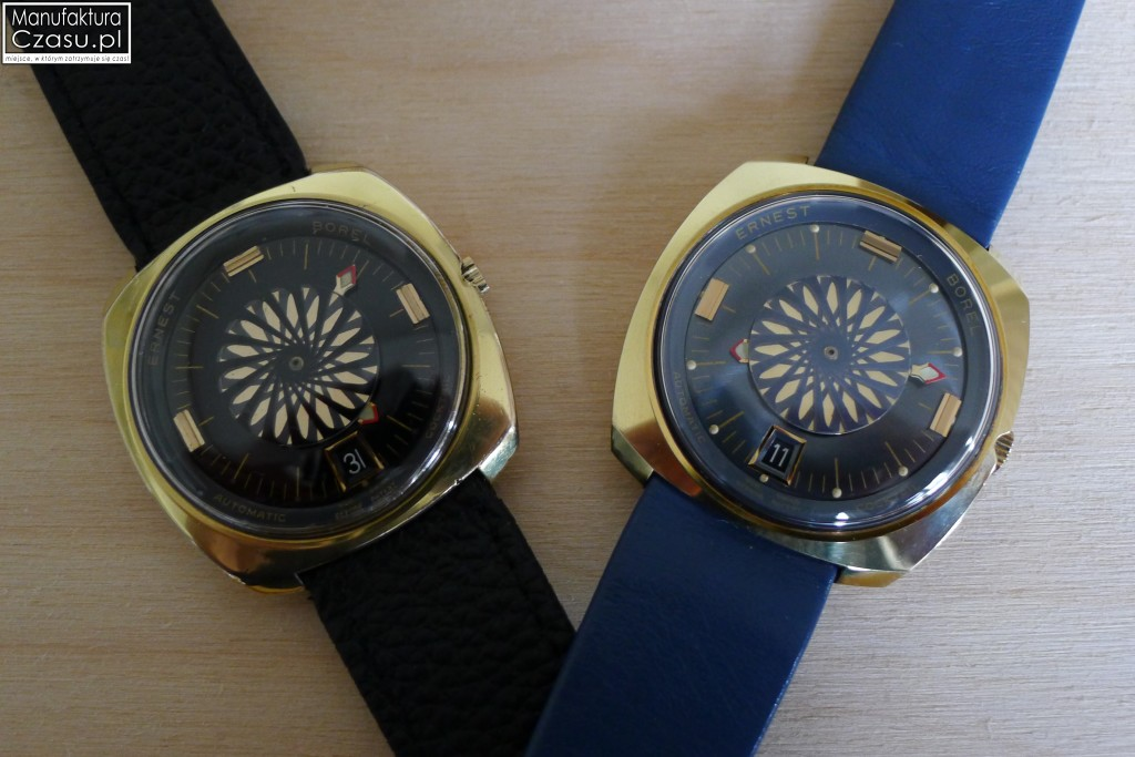 Dwa modele zegarka: Ernest Borel Cocktail Watch