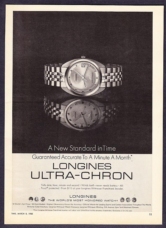 Reklama Longines U-C 1