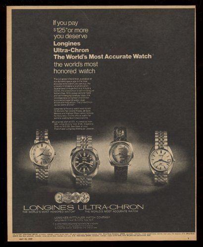 Reklama Longines U-C 3