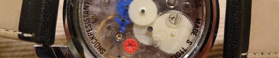 Zegarki mechaniczne z plastikowym mechanizmem ?