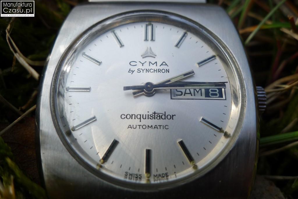 CYMA Conquistador Automatic - komplet z 1979 roku
