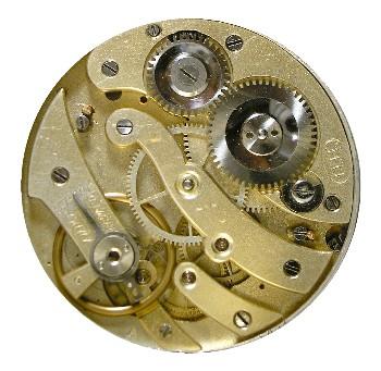 Mechanizm zegarka kieszonkowego produkcji Langendorf