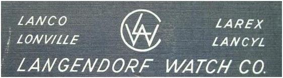 Marki w ramach przedsiębiorstwa Langendorf Watch Co.