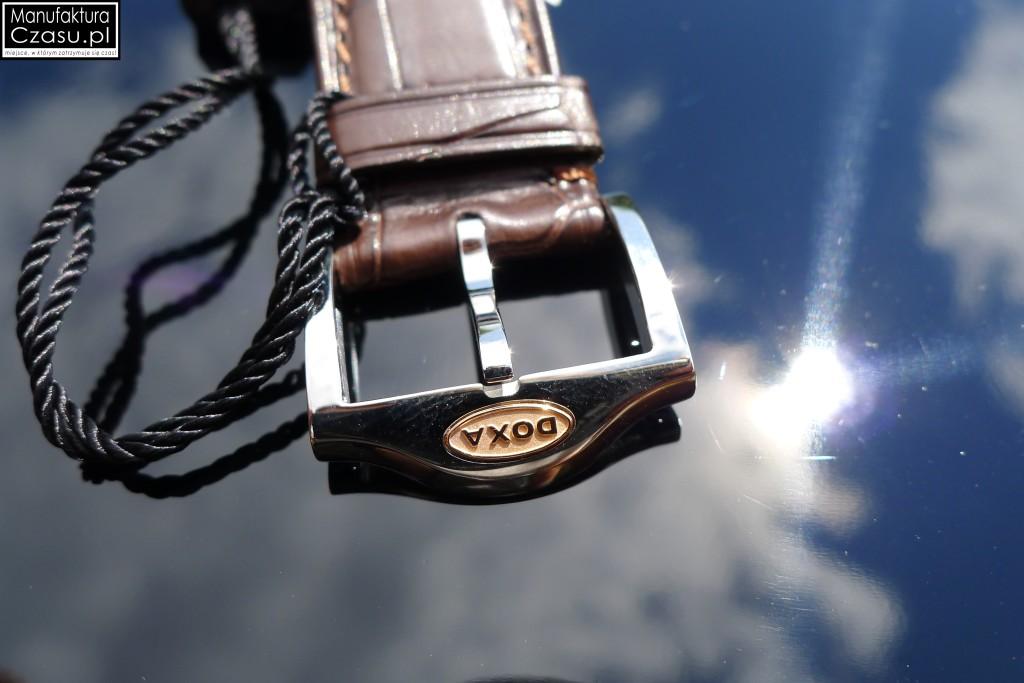 DOXA Blue Planet GMT Limited Edition - sygnowana klamra