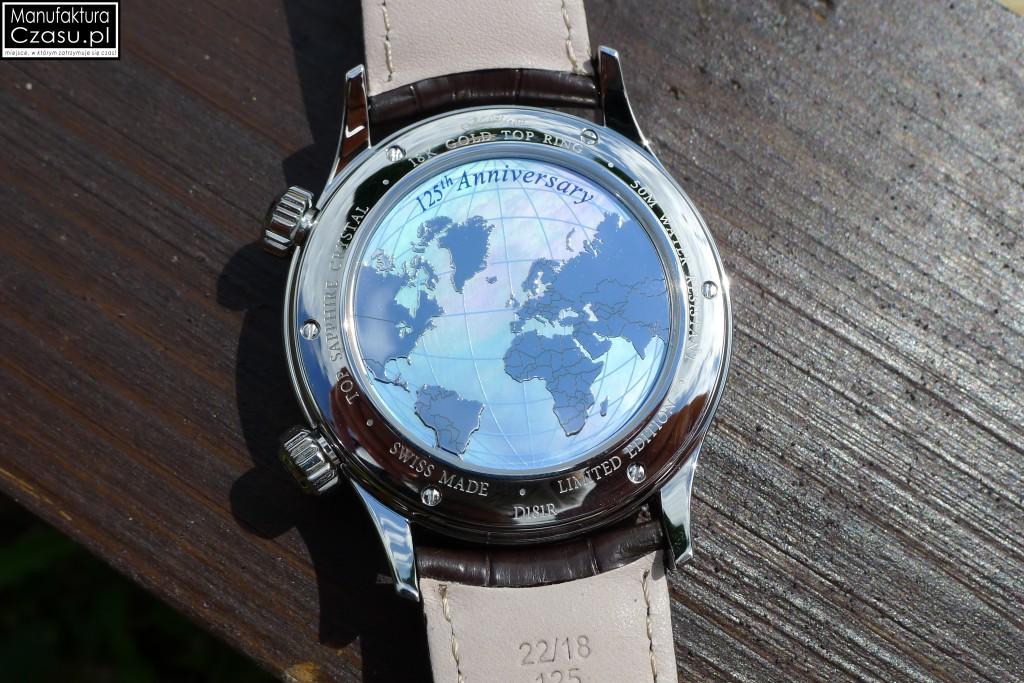 DOXA Blue Planet GMT Limited Edition - dekiel z mapą świata