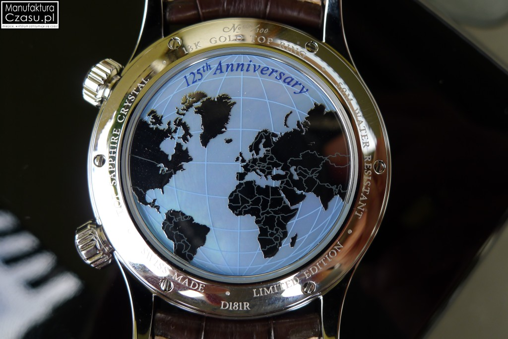 DOXA Blue Planet GMT Limited Edition