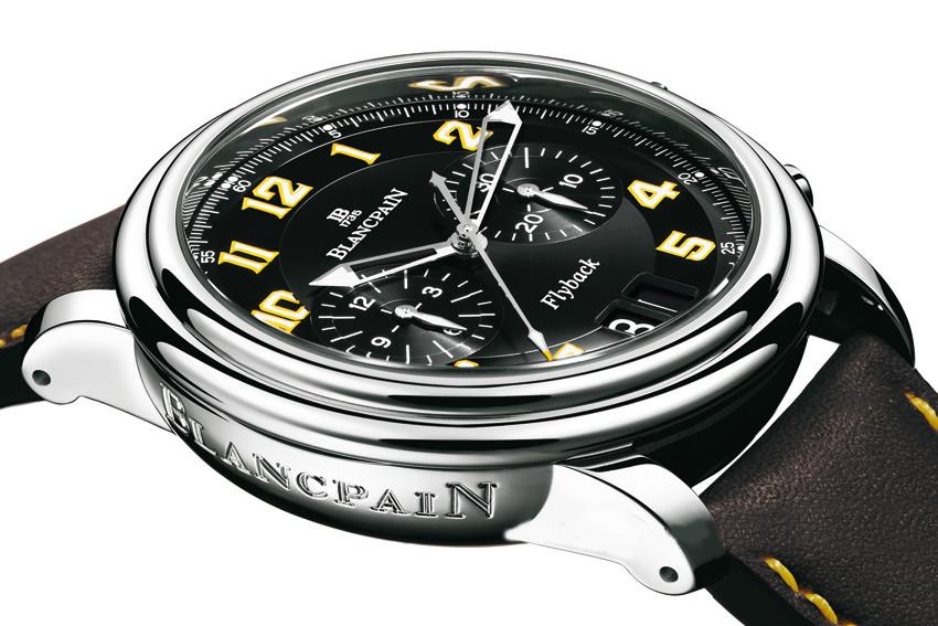 Flyback chrono produkcji Blancpain