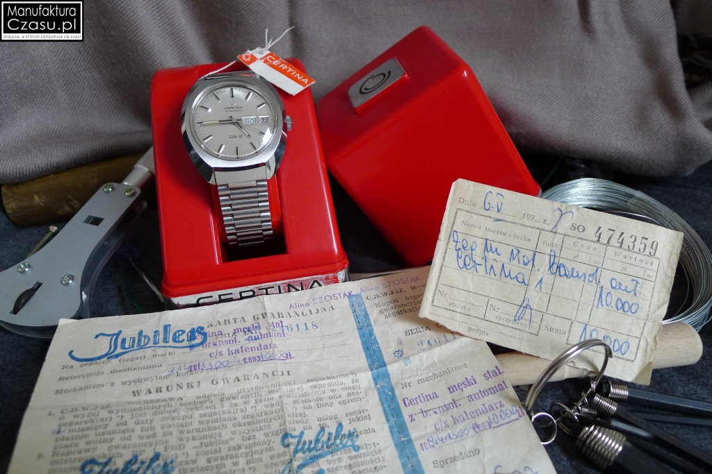 Certina DS-2 Automatic Day-Date PL 9