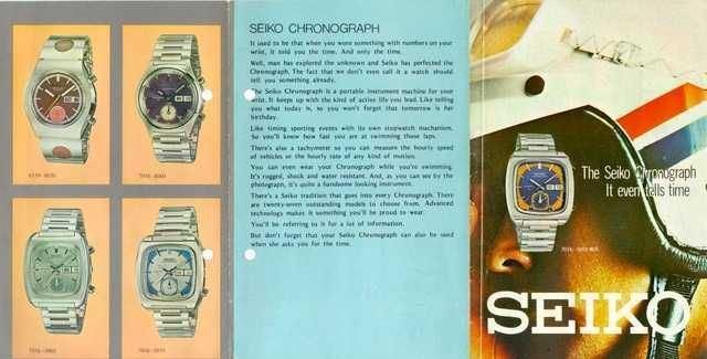 Seiko Monaco 1