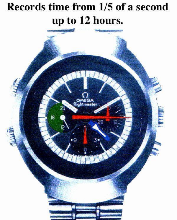 Omega Flightmaster 14