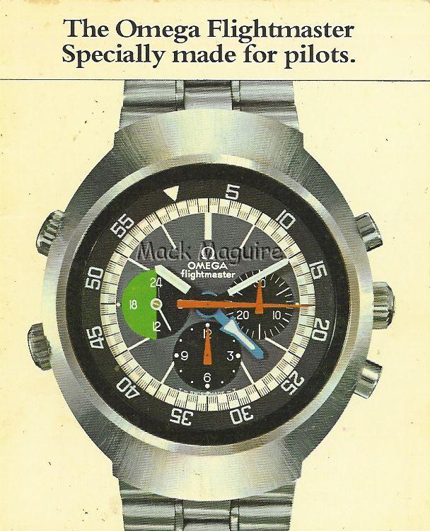 Omega Flightmaster 3